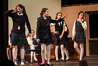 School of Rock dress rehearsal at Gilford High School.  Karen Bobotas for the Laconia Daily Sun