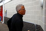 Carlisle United Manager Keith Curle getting off the coach during the EFL Sky Bet League 2 match between Crawley Town and Carlisle United at the Checkatrade.com Stadium, Crawley, England on 30 September 2017. Photo by Andy Walter.