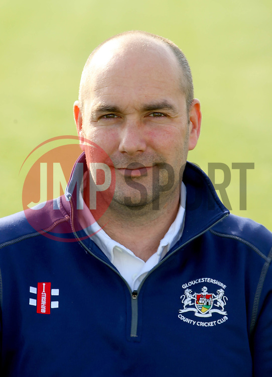Gloucestershire CCC physio, Steve Griffin - Photo mandatory by-line: Dougie Allward/JMP - 07966 386802 - 10/04/2015 - SPORT - CRICKET - Bristol, England - Bristol County Ground - Gloucestershire County Cricket Club Photocall.