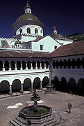 La Merced Church and Monastery, Old Town, Quito