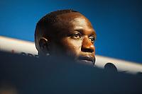 Moussa Sissoko - 05.06.2015 - Conference de Presse -Equipe de France<br />Photo : Andre Ferreira / Icon Sport