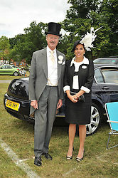 The DUKE & DUCHESS OF MARLBOROUGH at the 3rd day of Royal Ascot 2009 on 18th June 2009.