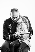 U.S. Army First Lieutenant Martin K. Newton began his career as an enlisted combat photographer in 1994, after which time he deployed to Afghanistan and Iraq. After two deployments, he married in 2009 and his daughter, Bella, was born later that year. In light of making the military a lifelong career, Newton finished his degree in 2010, was commission as an officer and deployed once again to Afghanistan. &ldquo;Serving my country means I&rsquo;m part of a very small number of people who&rsquo;ve chosen to serve their country no matter what the circumstance,&rdquo; explains Newton. <br />