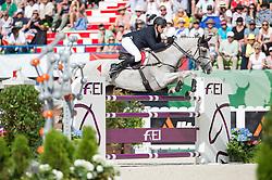 Paul Tapner, (AUS), Kilronan - Jumping Eventing - Alltech FEI World Equestrian Games™ 2014 - Normandy, France.<br /> © Hippo Foto Team - Jon Stroud<br /> 31-08-14