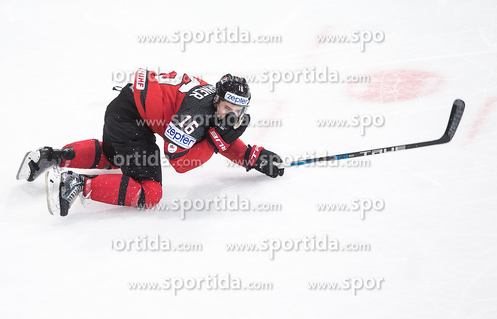 Mitch Marner of Canada during the 2017 IIHF Men's World Championship group B Ice hockey match between National Teams of Canada and Finland, on May 16, 2017 in AccorHotels Arena in Paris, France. Photo by Vid Ponikvar / Sportida