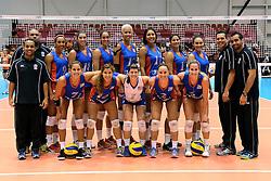 08-08-2014 NED: FIVB Grand Prix Nederland - Puerto Rico, Doetinchem<br /> Teamfoto Puerto Rico