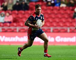 Siale Piutau of Bristol Rugby in action  - Mandatory by-line: Alex Davidson/JMP - 08/12/2017 - RUGBY - Ashton Gate Stadium - Bristol, England - Bristol Rugby v Leinster 'A' - B&I Cup