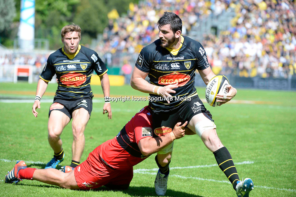 Loann GOUJON - 25.04.2015 - La Rochelle / Toulon - 23eme journee de Top 14<br />