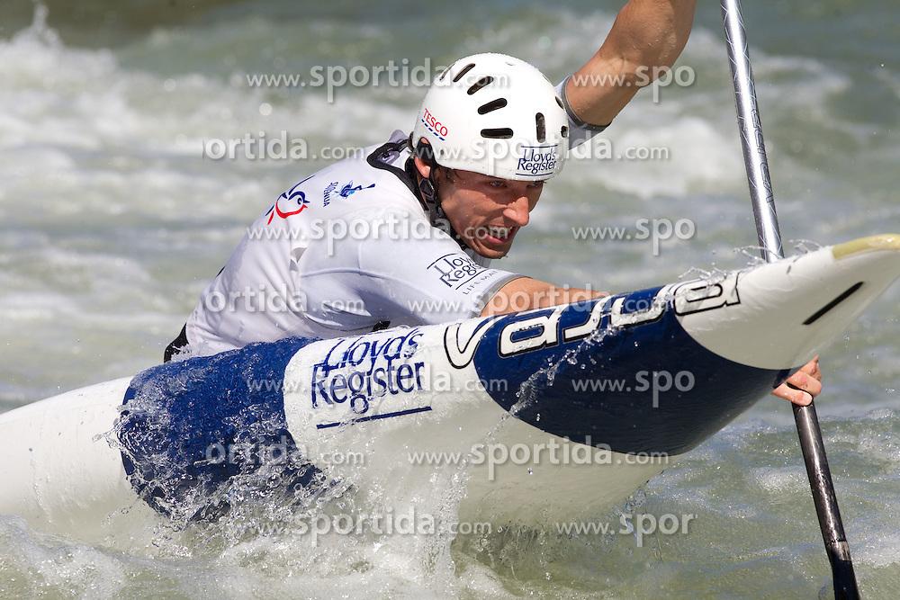 David Florence of Great Britain competes during semifinal race at ICF Canoe Slalom World Cup Sloka 2011, on June 25, 2011, in Tacen, Ljubljana, Slovenia. (Photo by Vid Ponikvar / Sportida)