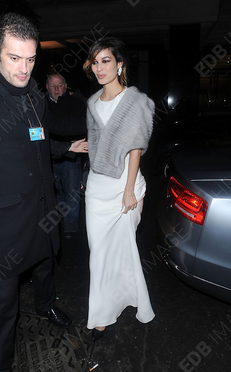 12.FEBRUARY.2012. LONDON<br /> <br /> BERENICE MARLOHE ATTENDS THE ORANGE BRITISH ACADEMY FILM AWARDS AFTER PARTY AT THE GROSVENOR HOUSE HOTEL IN LONDON<br /> <br /> BYLINE: EDBIMAGEARCHIVE.COM<br /> <br /> *THIS IMAGE IS STRICTLY FOR UK NEWSPAPERS AND MAGAZINES ONLY*<br /> *FOR WORLD WIDE SALES AND WEB USE PLEASE CONTACT EDBIMAGEARCHIVE - 0208 954 5968*