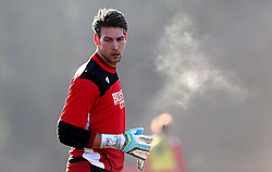 Fabian Giefer of Bristol City takes part in his first training session since signing - Mandatory by-line: Robbie Stephenson/JMP - 19/01/2017 - FOOTBALL - Bristol City Training Ground - Bristol, England - Bristol City Training