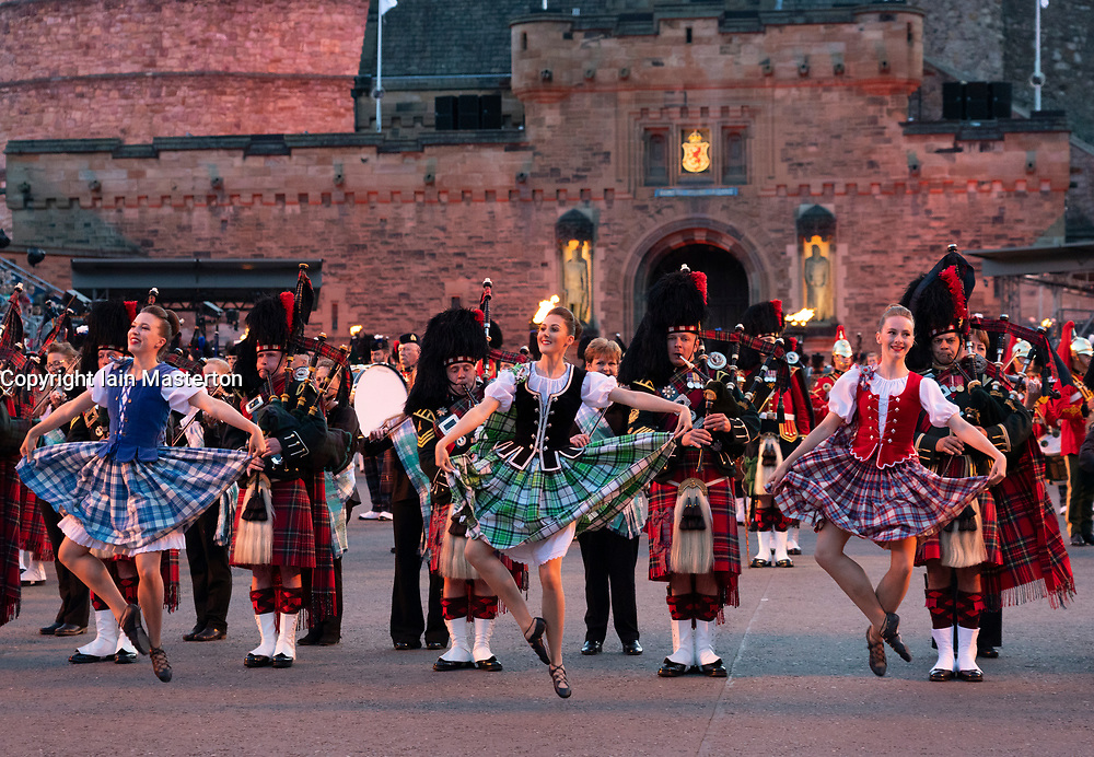 Edinburgh, Scotland, UK. 5 August, 2019.  The Royal Edinburgh Military Tattoo forms part of the Edinburgh International festival. Pictured; The Tattoo Dance Company