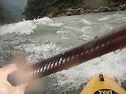 Bhutan, Mangde Chu expdeition, first descent of the lower Mangde Chu, 11/2007, (chu means river).