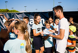 Kids Day during Day 7 at ATP Challenger Zavarovalnica Sava Slovenia Open 2018, on August 9, 2018 in Sports centre, Portoroz/Portorose, Slovenia. Photo by Vid Ponikvar / Sportida