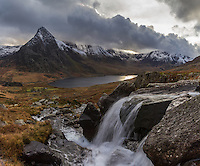 Tryfan and Llyn Ogwen, Snowdonia National Park, Wales