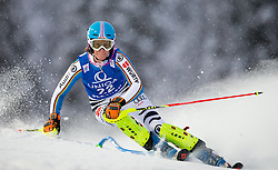 15.01.2016, Hermann Maier Weltcupstrecke, Flachau, AUT, FIS Weltcup Ski Alpin, Flachau, Damen, Slalom, 1. Lauf, im Bild Lena Duerr (GER) // Lena Duerr of Germany competes in the 1st run of Ladie's Slalom for the FIS Ski Alpine World Cup at the Hermann Maier Weltcupstrecke in Flachau, Austria on 2016/01/15. EXPA Pictures © 2016, PhotoCredit: EXPA/ JOHANN GRODER