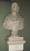 Marble bust of Julia Mamaea (AD 192-235) Mother and regent of Emperor Severus Alexander.
