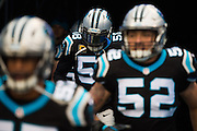 December 11, 2016: Carolina Panthers vs San Diego Chargers. Thomas Davis