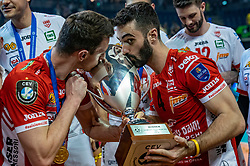 18-05-2019 GER: CEV CL Super Finals Zenit Kazan - Cucine Lube Civitanova, Berlin<br /> Civitanova win the Champions League by beating Zenit in four sets / Fabio Balaso #17 of Cucine Lube Civitanova