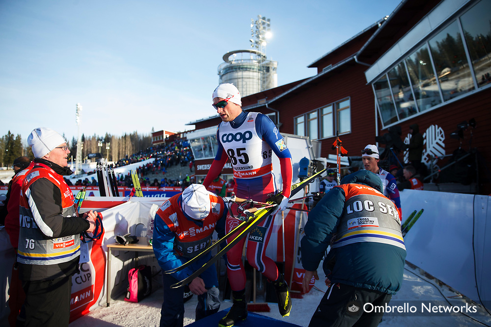 &Ouml;STERSUND 2015-02-15<br /> L&Auml;NGD&Aring;KNING 15 K <br /> PETTER NORTHUG