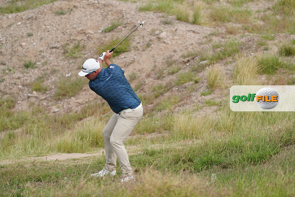 Justin Walters (RSA) during Round 1 of the Oman Open 2020 at the Al Mouj Golf Club, Muscat, Oman . 27/02/2020<br /> Picture: Golffile   Thos Caffrey<br /> <br /> <br /> All photo usage must carry mandatory copyright credit (© Golffile   Thos Caffrey)