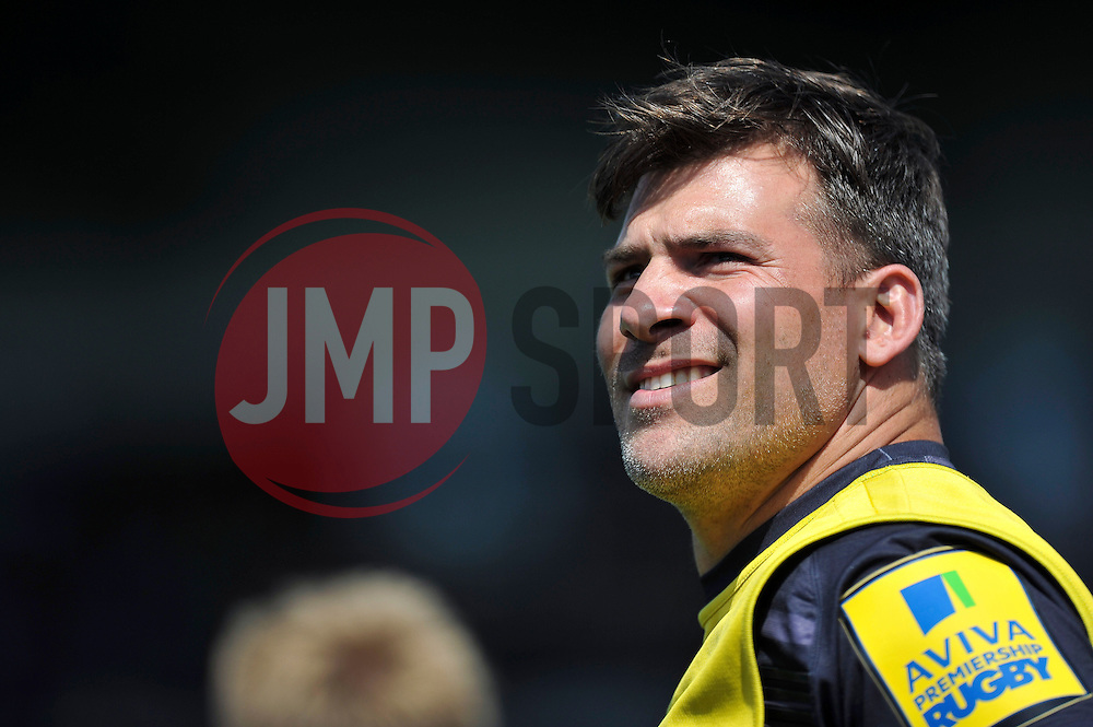 Schalk Brits of Saracens looks on - Photo mandatory by-line: Patrick Khachfe/JMP - Mobile: 07966 386802 10/05/2015 - SPORT - RUGBY UNION - London - Allianz Park - Saracens v Exeter Chiefs - Aviva Premiership