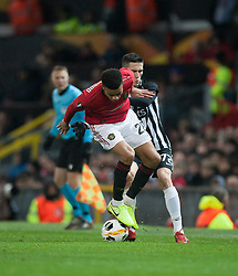 Mason Greenwood of Manchester United in action - Mandatory by-line: Jack Phillips/JMP - 07/11/2019 - FOOTBALL - Old Trafford - Manchester, England - Manchester United v Partizan - UEFA Europa League