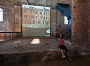 """FREESPACE - 16th Venice Architecture Biennale. Arsenale. Rozana Montiel Estudio de Arquitectura (Mexico), """"Stand Ground""""."""