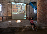 "FREESPACE - 16th Venice Architecture Biennale. Arsenale. Rozana Montiel Estudio de Arquitectura (Mexico), ""Stand Ground""."