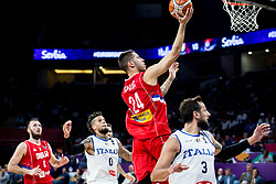 Stefan Jovic of Serbia during basketball match between National Teams of Italy and Serbia at Day 14 in Round of 16 of the FIBA EuroBasket 2017 at Sinan Erdem Dome in Istanbul, Turkey on September 13, 2017. Photo by Vid Ponikvar / Sportida