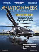 This Aviation Week Cover image is of Sikorski's Raider Helicopter