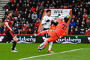 Goal - Dele Alli (20) of Tottenham Hotspur scores a goal to make the score 1-1 during the Premier League match between Bournemouth and Tottenham Hotspur at the Vitality Stadium, Bournemouth, England on 11 March 2018. Picture by Graham Hunt.