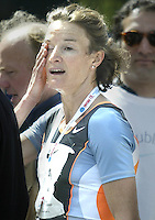 Sonia O'Sullivan after victory in Dublin's mini marathon (Copyright Independent News and Media)