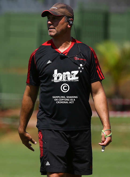 DURBAN, SOUTH AFRICA, 22,MARCH, 2016 -  General views Tabai Matson (Assistant Backs Coach) of the BNZ Crusaders during The Crusaders training session  at Northwood School Durban North in Durban, South Africa. (Photo by Steve Haag)<br /> <br /> images for social media must have consent from Steve Haag