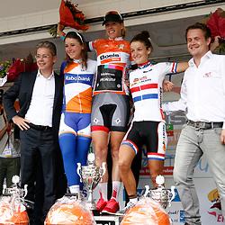 Boels Rental Ladiestour 2013 Ellen van Dijk (Specialized) wins GC 2nd Annemiek van Vleuten (Rabobank), 3th Lizzy Armitstead (Boels)