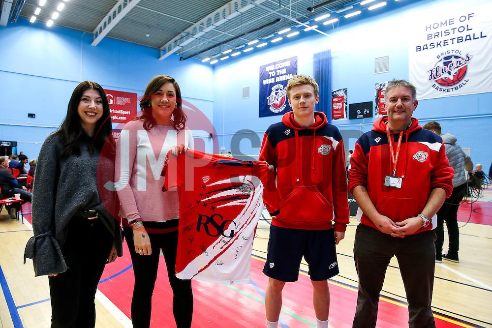 Sponsor shirt presentation - Rogan Thomson/JMP - 09/01/2017 - BADMINTON - SGS Wise Arena - Bristol, England - Bristol Jets v Birmingham Lions - AJ Bell National Badminton League.