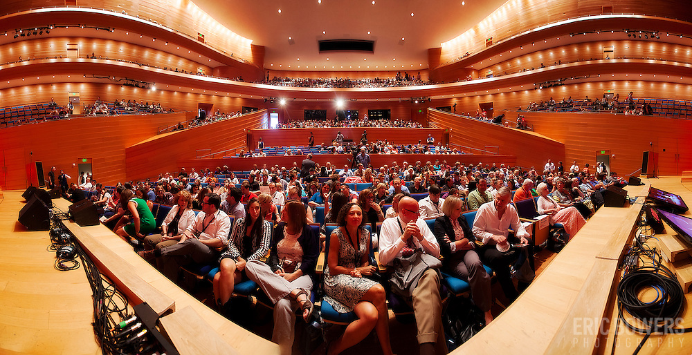 TedX KC event in Helzberg Hall at the Kauffman Center for the Performing Arts, Kansas City, MO.