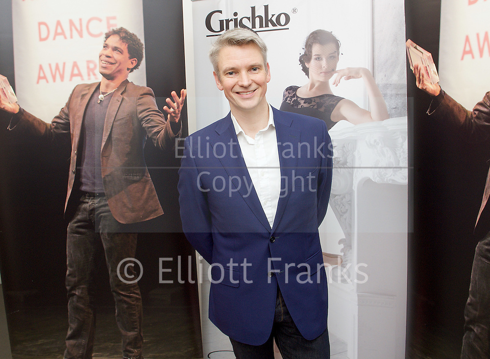 The Critics' Circle National Dance Awards 2015 <br /> at The Place, London, Great Britain <br /> 25th January 2016 <br /> <br /> <br /> Christopher Hampson <br /> <br /> <br /> DANCING TIMES AWARD FOR BEST MALE DANCER <br /> Tobias Batley (Northern Ballet)<br /> Israel Galv&aacute;n (Compa&ntilde;&iacute;a Israel Galv&aacute;n) <br /> Steven Mcrae (The Royal Ballet) <br /> Vadim Muntagirov (The Royal Ballet) <br /> Edward Watson (The Royal Ballet)<br /> <br /> GRISHKO AWARD FOR BEST FEMALE DANCER <br /> Alina Cojocaru (English National Ballet)<br /> Alessandra Ferri (Guest with The Royal Ballet) <br /> Sylvie Guillem (Life In Progress tour)<br /> Roc&iacute;o Molina (Compa&ntilde;&iacute;a Roc&iacute;o Molina)<br /> Marianela Nu&ntilde;ez (The Royal Ballet)<br /> <br /> STEF STEFANOU AWARD FOR OUTSTANDING COMPANY<br /> Candoco Dance Company<br /> English National Ballet <br /> Matthew Bourne&rsquo;s New Adventures <br /> Northern Ballet<br /> <br /> BEST INDEPENDENT COMPANY <br /> 2faced Dance<br /> Ballet Cymru <br /> Company Chameleon <br /> Rosie Kay Dance Company <br /> Shobana Jeyasingh Dance Company<br /> <br /> BEST CLASSICAL CHOREOGRAPHY<br /> Paco Pe&ntilde;a, Fernando Romero, Angel Mu&ntilde;oz, Charo Espino &amp; Carmen Rivas (Flamencura for Paco Pe&ntilde;a Company)<br /> David Bintley (The King Dances for Birmingham Royal Ballet)<br /> Wayne Mcgregor (Woolf Works for The Royal Ballet)<br /> Liam Scarlett (Age Of Anxiety for The Royal Ballet) <br /> Kenneth Tindall (The Architect for Northern Ballet)<br /> <br /> BEST MODERN CHOREOGRAPHY<br /> Mark Baldwin (Dark Arteries for Rambert)<br /> Ben Duke (Paradise Lost [Lies Unopened Beside Me] for Lost Dog) <br /> Rosie Kay (5 Soldiers for Rosie Kay Dance Company) <br /> Le Patin Libre (Vertical Influences for Dance Umbrella)<br /> Crystal Pite (Polaris for Sadler&rsquo;s Wells)<br /> <br /> EMERGING ARTIST AWARD <br /> Avat&acirc;ra Ayuso (Choreographer &amp; Performer, Ava Dance/ Shobana Jeyasingh Dance Company)<br /> Matthew Ball (Dancer &ndash; The Royal Ballet) <br /> Cesar Corrales (Dancer &ndash; English National Ballet) <br /> Carlos Pons Guerra (Choreographer &ndash; Denada Dance Theatre) <br /> Kenneth Tindall (Freelance Choreographer)<br /> <br /> OUTSTANDING FEMALE PERFORMANCE (CLASSICAL)<br /> Lauren Cuthbertson (in Song Of The Earth for The Royal Ballet)<br /> Alessandra Ferri (In Woolf Works for The Royal Ballet)<br /> Francesca Hayward (in the
