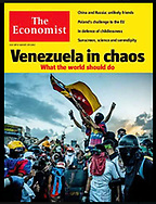 "The Economist ""Venezuela in Chaos"" by Stephen Gibbs. July 27, 2017"