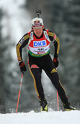 Michael Roesch (GER) at Men 20 km Individual at E.ON Ruhrgas IBU World Cup Biathlon in Hochfilzen (replacement Pokljuka), on December 18, 2008, in Hochfilzen, Austria. (Photo by Vid Ponikvar / Sportida)
