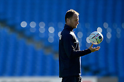 Skills coach Mike Catt looks on during the session - Mandatory byline: Patrick Khachfe/JMP - 07966 386802 - 09/10/2015 - RUGBY UNION - Manchester City Stadium - Manchester, England - England Captain's Run - Rugby World Cup 2015.