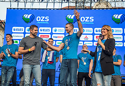 Alen Pajenk during the Day for the medals: Reception of Slovenian sport heroes on 30.9.2019 on Kongresni square, Ljubljana, Slovenia. Photo by Urban Meglič / Sportida
