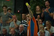 07-05-2014 : WATERPOLO : ZVL - GZC DONK : LEIDEN<br /> <br /> KNZB Scheidsrechter Zwart<br /> Play-offs Eredivisie Dames - Seizoen 2013/2014<br /> <br /> Foto: Gertjan Kooij