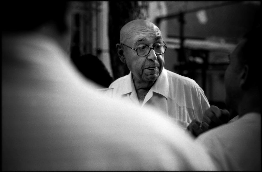 PORTRAITS / RETRATOS<br /> Ricardo Porro<br /> Arquitecto Cubano<br /> Havana - Cuba 2007<br /> <br /> (Copyright &copy; Aaron Sosa)