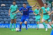 Bradden Inman looks to pass the ball during the The FA Cup 1st round match between Rochdale and Gateshead at Spotland, Rochdale, England on 10 November 2018.