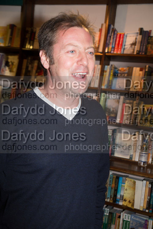 MATTHEW FREUD,  Allie Esiri's The Love Book launch party , Daunt Books <br /> 83 Marylebone High Street, London. 5 February 2014