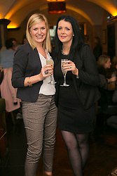 No fee for Repro 27/06/2013 <br /> Kathryn Ryan and Jessica Pollard are pictured at the relaunch of The Mint Bar at The Westin Dublin. Dublin&rsquo;s hottest cocktail bar, The Mint Bar is redefining Dublin&rsquo;s cocktail culture. Picture Andres Poveda