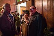 SIR DAVID ADJAYE,  Waldemar Januszczak, Ghana party, Venice, 8 May 2019