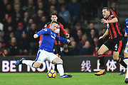Wayne Rooney (10) of Everton looking for an opening during the Premier League match between Bournemouth and Everton at the Vitality Stadium, Bournemouth, England on 30 December 2017. Photo by Graham Hunt.