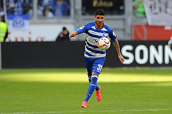 15.04.2016, Schauinsland Reisen Arena, Duisburg, GER, 2. FBL, MSV Duisburg vs TSV 1860 Muenchen, 30. Runde, im Bild Baris Oezbek (MSV Duisburg) // during the 2nd German Bundesliga 30th round match between MSV Duisburg and TSV 1860 Muenchen at the Schauinsland Reisen Arena in Duisburg, Germany on 2016/04/15. EXPA Pictures © 2016, PhotoCredit: EXPA/ Eibner-Pressefoto/ Thienel<br /> <br /> *****ATTENTION - OUT of GER*****